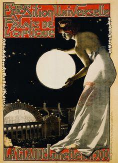 HOLY CRAP--so gorgeous!    Georges Paul Leroux, Exposition Universelle Palais de l'Optique, 1900 by Gatochy, via Flickr