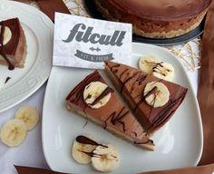 Lahodný banánovo-čokoládový dort se slušnou dávkou bílkovin (Recept) Cheesecake, Fresh, Fit, Recipes, Shape, Cheesecakes, Ripped Recipes, Cherry Cheesecake Shooters