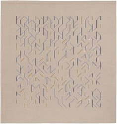 Anni Albers, Floating wall hanging for AT&T building, 1984
