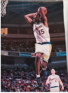 Latrell Sprewell, who played for the Golden State Warriors from 1992 to 1998.