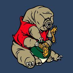 Cute tardigrade (waterbear) t-shirt from Sporecloud!