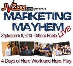 Marketing Mayhem Live Este evento será muy interactivo y diferente a cualquiera al que hayas asistido. Olvídate de pasar horas al día pegado a tu asiento. En MML13 participarás en todo!