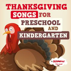 ‎Thanksgiving Songs for Preschool and Kindergarten by The Kiboomers Thanksgiving Songs For Preschoolers, Thanksgiving Classroom Activities, Thanksgiving Poems, Kid Activities, Thanksgiving Recipes, Silly Songs, Kids Songs, Thankful Songs, Preschool Songs