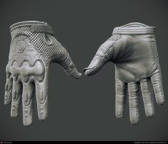 Brink: Resistance Operative Gloves by Ben Davis | 3D | CGSociety
