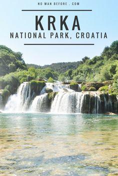 Krka National Park, Croatia | Swimming at Skradinski Buk Waterfalls