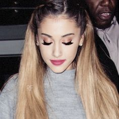 I love you more than anything, but the words can't even touch what's in my heart~ Ariana Grande