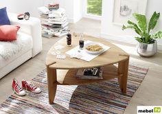 Dębowy stolik kawowy TEDE - sklep meblowy