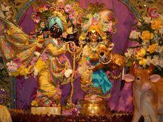 Sri Sri Radha- Madan Mohan, at ISKCON of DC in Potomac, MD