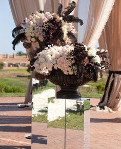 Mirror Wedding Ideas | John & Joseph Photography | blog.theknot.com