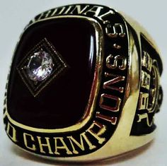 1980 St. Louis Cardinals Ring