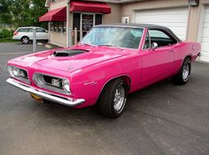 1967 Plymouth Barracuda....DREAM CAR SINCE I WAS 16!!!!! change that paint color though