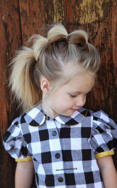 Coiffure petite fille cheveux mi long - http://lookvisage.ru/coiffure-petite-fille-cheveux-mi-long/ #Cheveux #Beauté #tendances #conseils