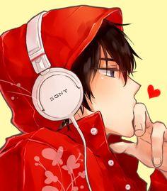 anime music boy - Buscar con Google