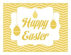 Yellow Happy Easter Sign - Good Egg by Malia Karlinsky - Yesterday on Tuesday, via Flickr