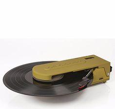 Revolution Portable USB Turntable - Green + [ Bonus Spotlight LP Included ] #shopifypicks