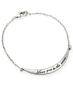 Love you to the Moon Bracelet <3 LOVE THIS!...i wants it