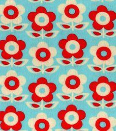 Snuggle Flannel Fabric Floral Stripe BlueSnuggle Flannel Fabric Floral Stripe Blue,