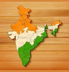 Tricolor indian flag map background for republic Vector Image Indian Flag, Map Background, Flag Photo, Independence Day, Adobe Illustrator, Vector Free, Illustration, Artwork, Image