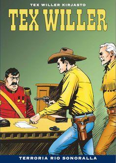 Tex Willer -kirjasto nro 29 Terroria Rio Sonoralla. #sarjakuva #sarjis #länkkäri #cowboy