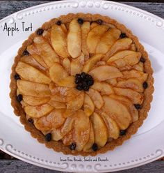 Grain-Free Apple Tart from Grain-Free Breads, Snacks and Desserts, we used our mixed berry flavored stevia in this dish!