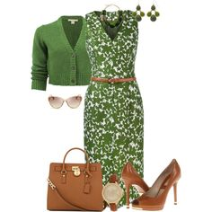 Kors Floral Dress by maggie478 on Polyvore featuring Michael Kors, women's clothing, women's fashion, women, female, woman, misses, juniors and michaelkors