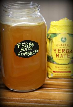 There are many health benefits to yerba mate tea and it is revered in the tea world as an energy booster. Many who are sensitive to caffeine say that even though yerba mate is high in caffeine they… Kombucha Flavors, Kombucha Recipe, Kombucha Tea, Best Probiotic, Probiotic Foods, Fermented Foods, Kombucha Starter, Kombucha Culture, Yerba Mate Tea