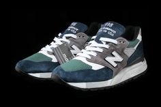 promo code 42707 3855d New Balance 998 Teal Navy Release Details Footwear Shoes Trainers Sneakers  Kicks Available Cop Purchase Buy