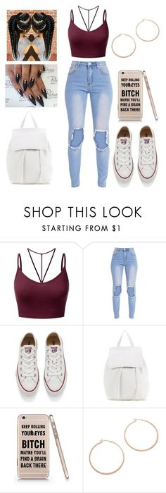 Untitled #434 by kawaii2cute ❤ liked on Polyvore featuring J.TOMSON, Converse, Mansur Gavriel and Jennifer Zeuner