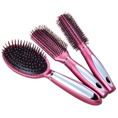 Premium Durable Hair Comb Afro Pick Anti-static Combs Anti-Static,Set Of 3,Red *** This is an Amazon Affiliate link. Visit the image link more details.
