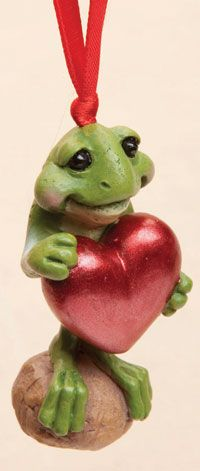 Love Frog Ornament