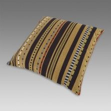 Paul Smith For Maharam - Black And Gold Point Cushion Paul Smith, Zip Around Wallet, Cushions, Throw Pillows, Gold, Gifts, Black, Interior, Design