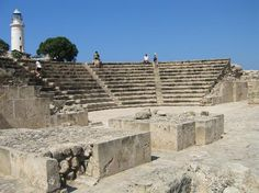 Kato Paphos Archaeological Park - House of Dionysos, Roman Odeon Theatre, Mosaics, Castle (Saranda Kolones) Wonderful Places, Great Places, Places To See, Places Ive Been, Kato Paphos, Limassol, Holiday Apartments, Park Homes, Cyprus