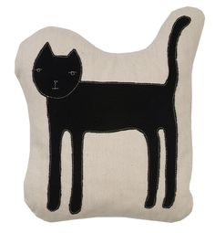 cat from kstudio pillow