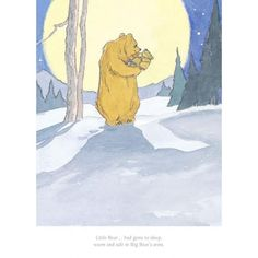 Barbara Firth - Little Bear Had Gone to Sleep - limited edition Collector's Print (Martin Waddell, Can't You Sleep Little Bear?)