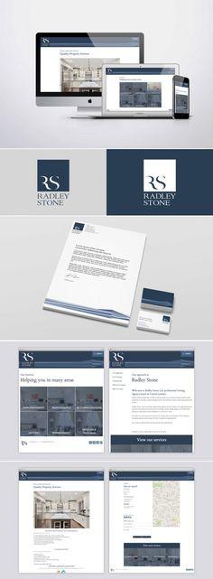 Radley Stone - Company Branding, Brand Identity Design, Web Design. Created by Graphic Evidence