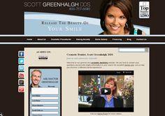 2009 Mar Com Award for Website Overall & Writing/Web Copy - Scott Greenhalgh, DDS (www.scottgreenhalghdds.com)