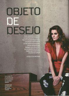 Editorial de moda da revista O POVO Cenário