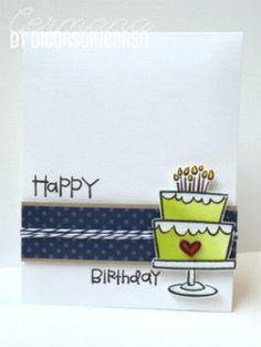 """<input+class=""""jpibfi""""+type=""""hidden""""+><p>Oggi+vi+propongo+di+nuovo+una+card+per+un+compleanno….+eh+si…..+sempre+io….+sempre+card…+e+sempre+per+un+compleanno!!!!+Una+card+molto+""""clean+&+simple""""……+ma+con+un+bel+timbro+da+colorare+(facile+facile!!!).+Ho+utilizzato+della+carta+patterned+a+pois,+del+Bazzill+bianco+e+kraft,+e+un+…</p>"""
