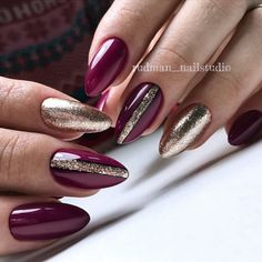 32 New Acrylic Nail Designs Ideas to Try This Year - Page 21 of 32 - Red Nails - nail jenner nail wedding nail nail nail nail Rose Gold Nails, Matte Nails, Acrylic Nails, Stiletto Nails, Coffin Nails, Solid Color Nails, Nail Colors, Short Nails, Long Nails