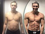 Ben Jackson, 45, from Warrington, swapped pies and beers for a low carb, high protein diet and dropped from 190lbs (86.5kg) to 174lbs (79kg) and 20 per cent body fat to just nine per cent.