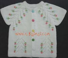 embroidered cardi