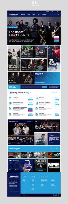 Academy Music Group on Behance