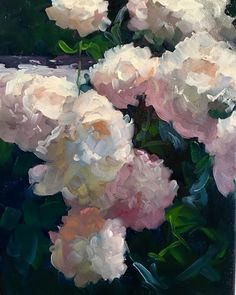 Fine Art for Sale by American Impressionist Dennis Perrin Oil Painting Flowers, Abstract Flowers, Painting & Drawing, Watercolor Paintings, Painting Inspiration, Oeuvre D'art, Flower Art, Amazing Art, Fine Art