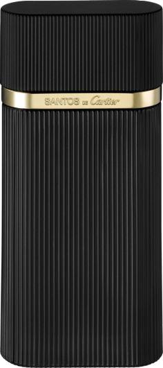 Eau de toilette concentrée Santos de Cartier: Un parfum boisé aromatique. Une version plus anisée et plus boisée de Santos de Cartier qui garde la fraîcheur du basilic et les notes ambrées de la sauge sclarée.