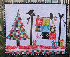 The Christmas Quilt,( sew, vote, swap round 8) by nanotchka, via Flickr