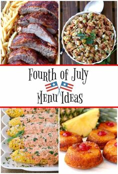 Fourth of July Menu Ideas are your ticket to planning the most epic party ever! If you& hosting or bringing, there& something here for you! Easy Party Food, Party Food And Drinks, Epic Party, Easy Appetizer Recipes, Appetizers For Party, Summer Cakes, Recipe For Mom, Meat Recipes, Top Recipes