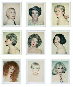 Neuf fois Andy Warhol…série d'autoportraits de l'artiste, accro au...