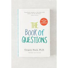The Book Of Questions By Gregory Stock Ph.D. (510 RUB) ❤ liked on Polyvore featuring home, home decor and urban outfitters
