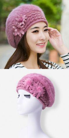 aa532ec066f Fashion knits beret hat cap winter hat for women hat skullies beanies brand  beret soft cap female cap drop shipping