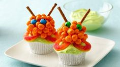 Awesome Alien Cupcakes Recipe